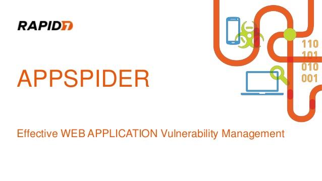 Rapid7 AppSpider